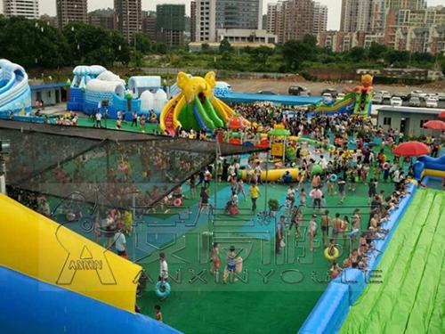 江西吉安移动水乐园