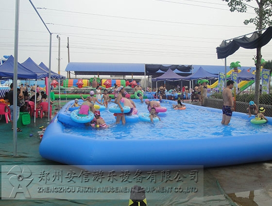 充气游泳池