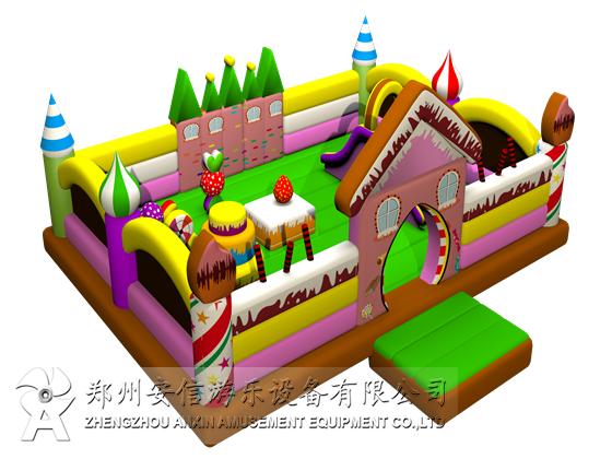 小型充气城堡蹦蹦床