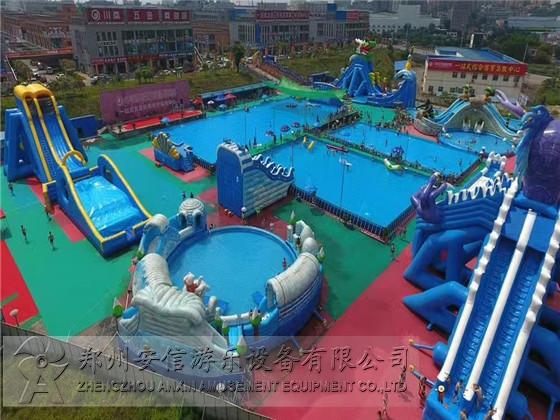 大型支架游泳池