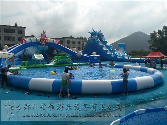 大型充气游泳池
