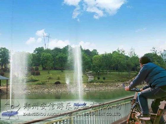 湖北单车喷泉