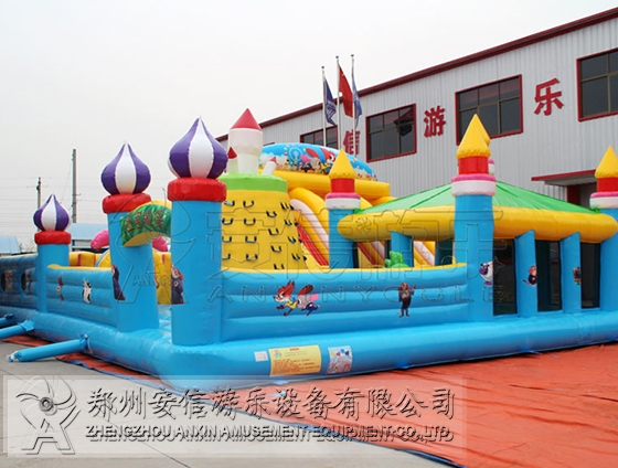 江苏大型陆地充气迷宫城堡