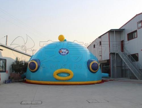 儿童游乐设备灯笼鱼科技馆