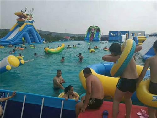 移动支架水池水上乐园