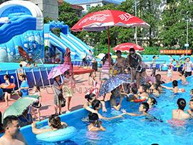 湖南移动水上乐园案例